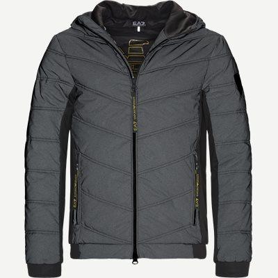 Bomber Jacket Slim | Bomber Jacket | Grå