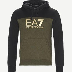 Logo Hoodie Sweatshirt Regular | Logo Hoodie Sweatshirt | Army