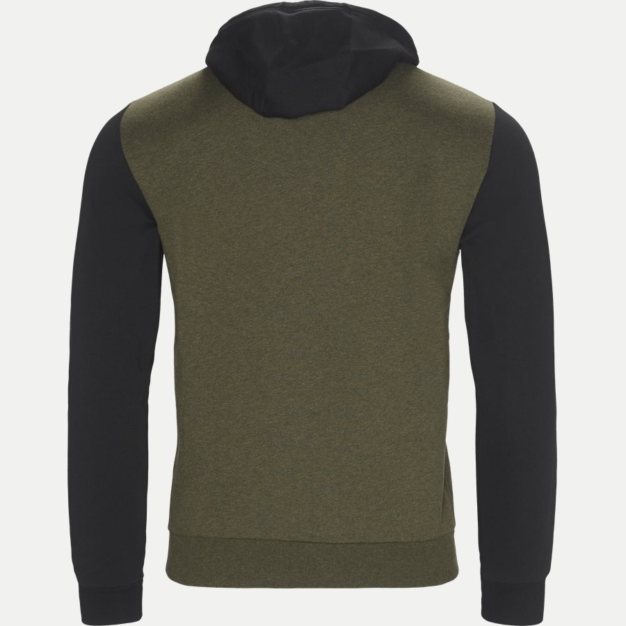 PJ07Z-6ZPM38 - Logo Hoodie Sweatshirt - Sweatshirts - Regular - ARMY - 2