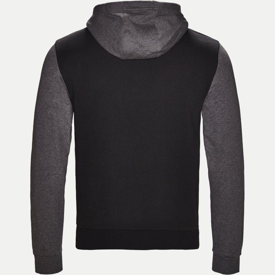 PJ07Z-6ZPM38 - Logo Hoodie Sweatshirt - Sweatshirts - Regular - SORT - 2