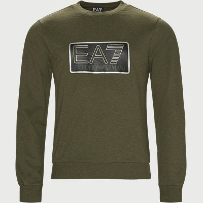 Crew Neck Sweatshirt Regular | Crew Neck Sweatshirt | Army