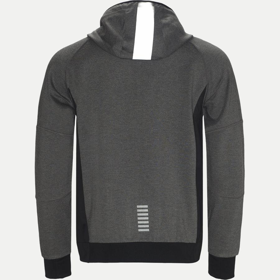 PJQ7Z-6ZPM65 - Hoodie Sweatshirt - Sweatshirts - Regular - GRÅ - 2