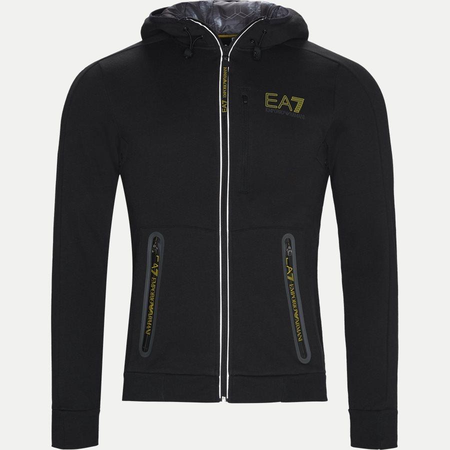 PJ07Z-6ZPM62 - Hoodie Sweatshirt - Sweatshirts - Regular - SORT - 1