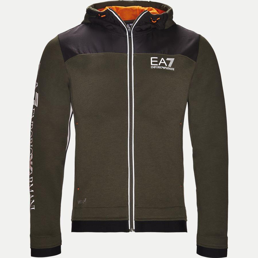 PJF3Z-6ZPM30 - Hooded Zippered Jacket - Sweatshirts - Regular - ARMY - 1