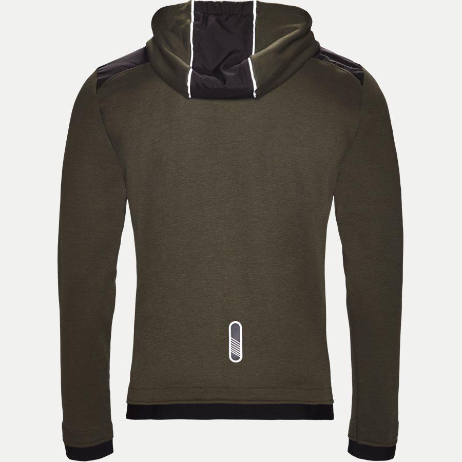 PJF3Z-6ZPM30 - Hooded Zippered Jacket - Sweatshirts - Regular - ARMY - 2