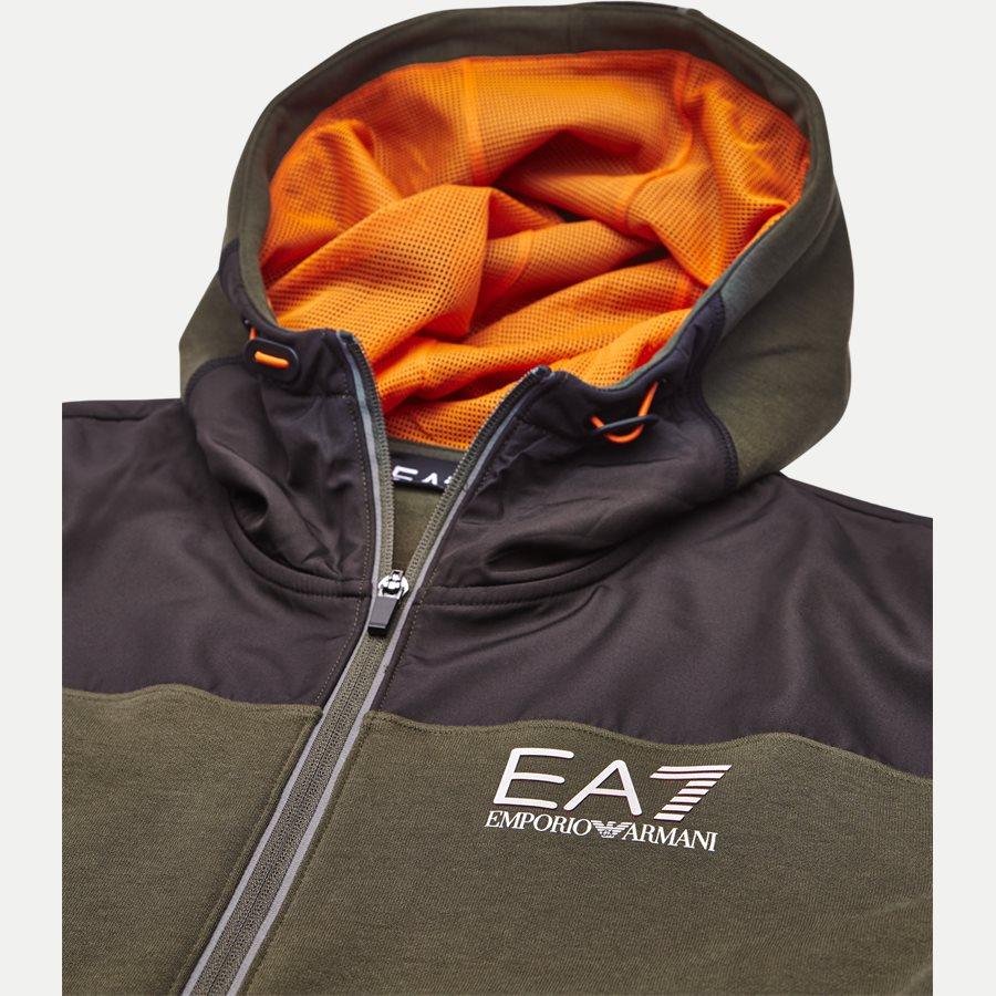 PJF3Z-6ZPM30 - Hooded Zippered Jacket - Sweatshirts - Regular - ARMY - 3