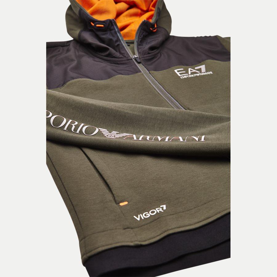PJF3Z-6ZPM30 - Hooded Zippered Jacket - Sweatshirts - Regular - ARMY - 6