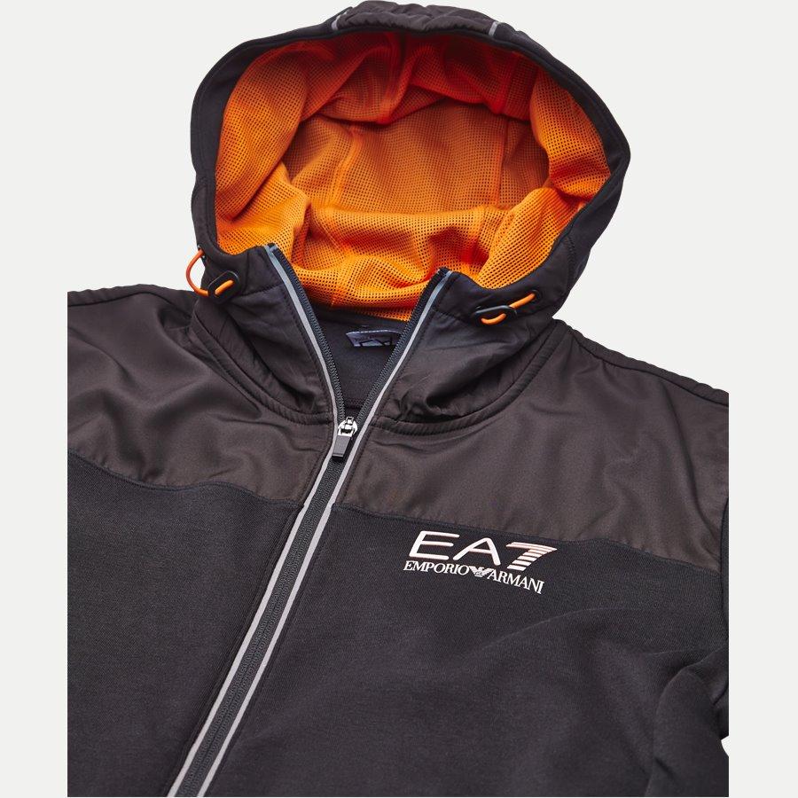 PJF3Z-6ZPM30 - Hooded Zippered Jacket - Sweatshirts - Regular - SORT - 3