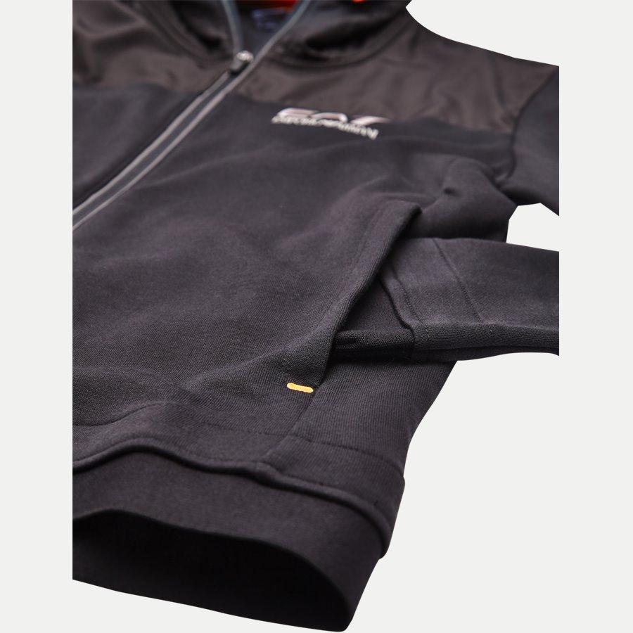 PJF3Z-6ZPM30 - Hooded Zippered Jacket - Sweatshirts - Regular - SORT - 4