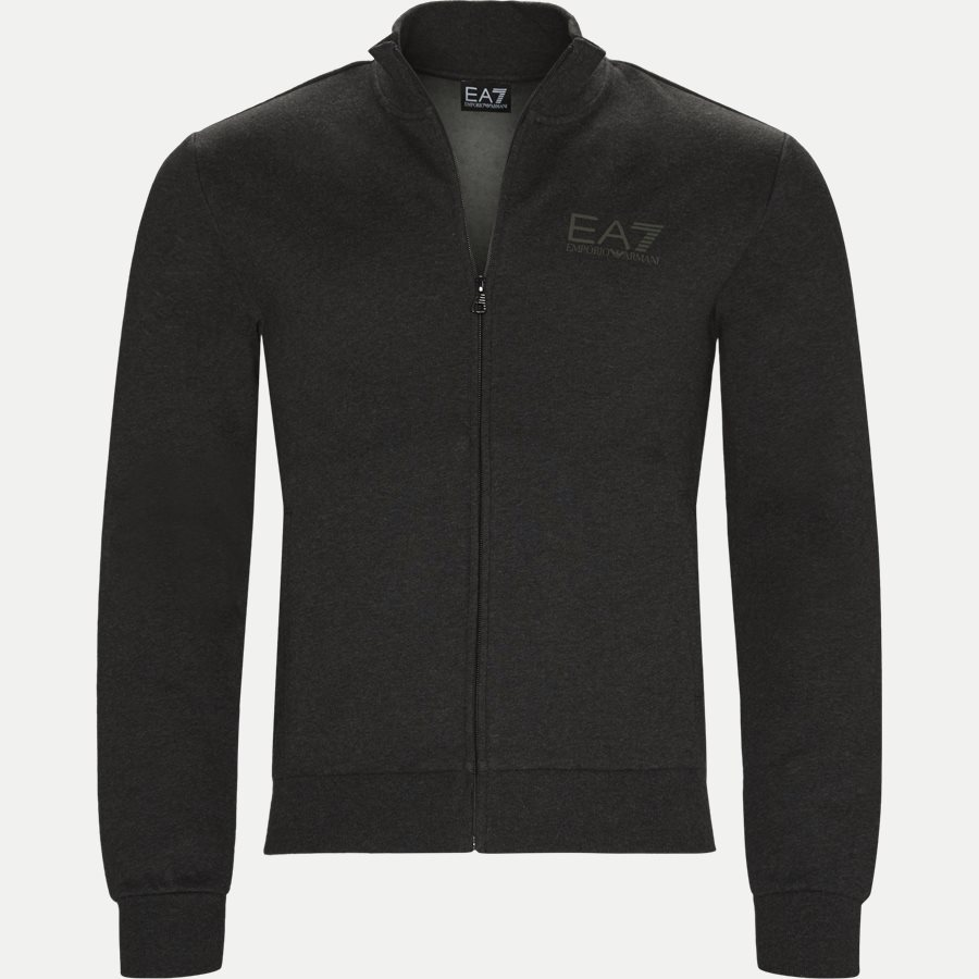 PJ07Z-6ZPV51 VR. 43 - Full Zip Sweatshirt - Sweatshirts - Regular - GRÅ - 1