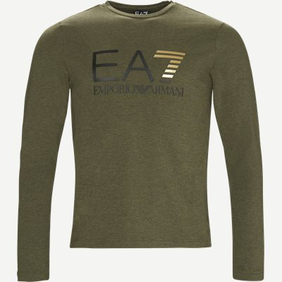 Langærmet T-shirt Regular | Langærmet T-shirt | Army