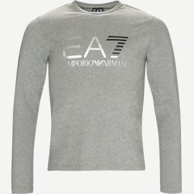 Langærmet T-shirt Regular | Langærmet T-shirt | Grå