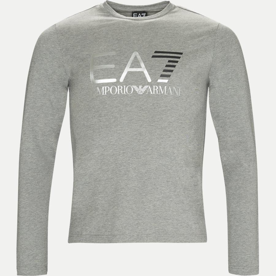 PJ20Z-6ZPT22 - Langærmet T-shirt - T-shirts - Regular - GRÅ - 1