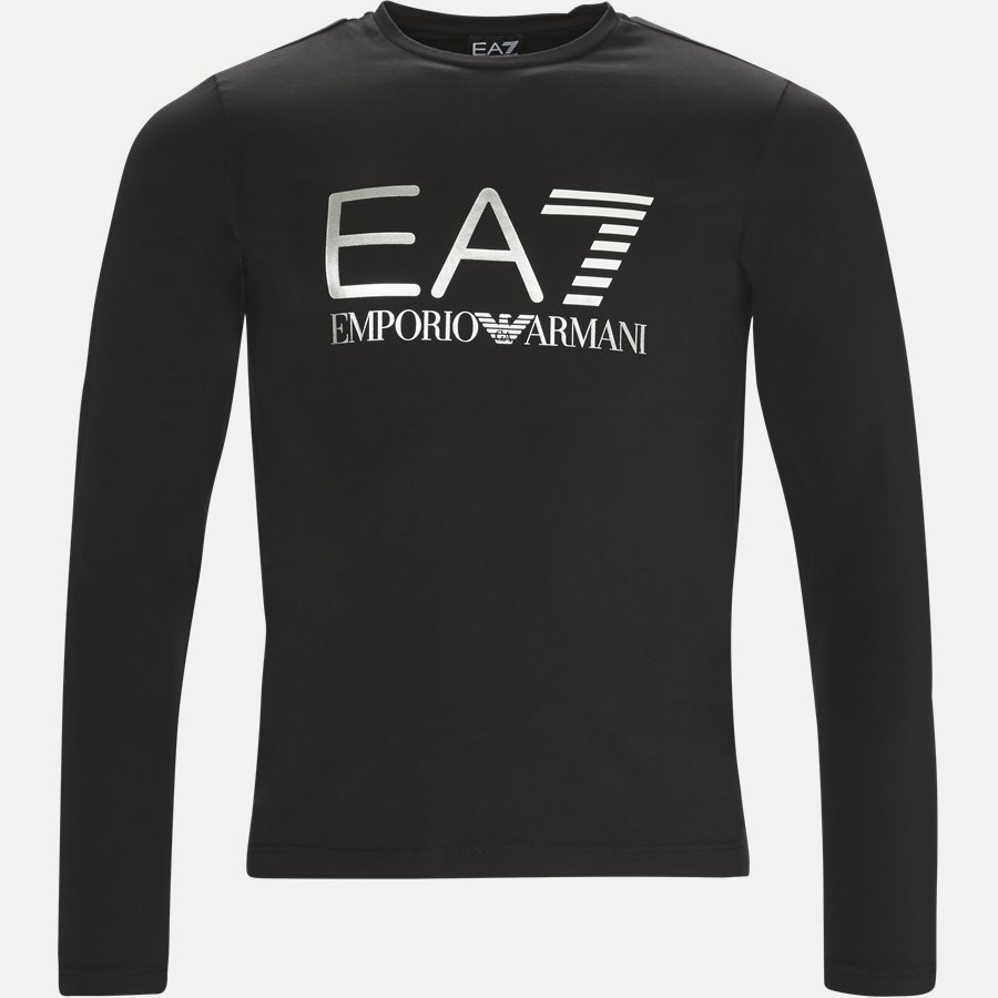 PJ20Z-6ZPT22 - Langærmet T-shirt - T-shirts - Regular - SORT - 1