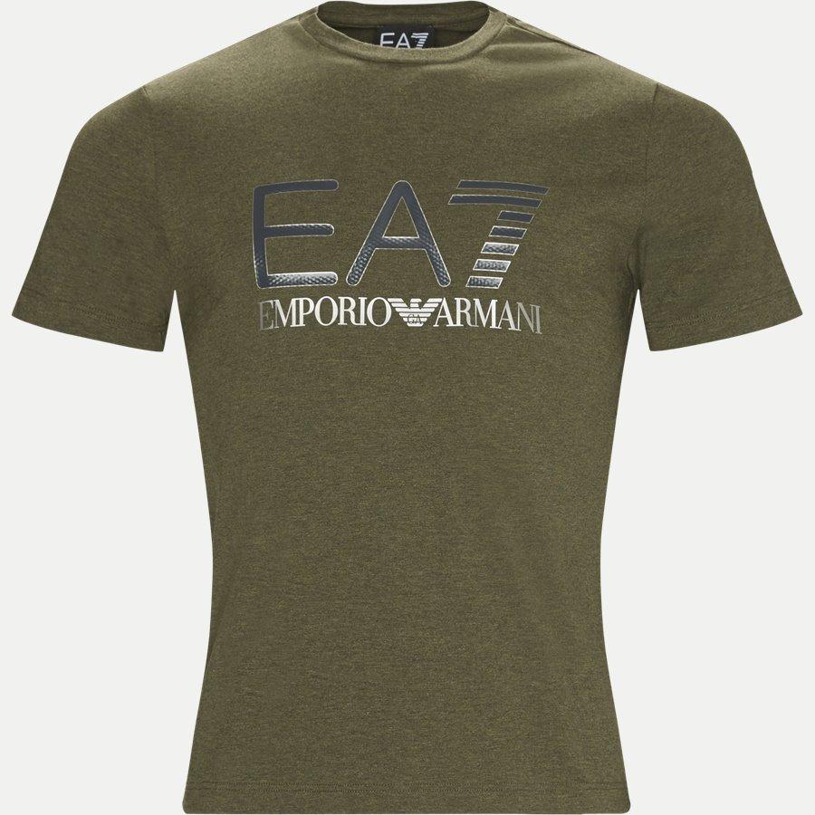 PJ20Z-6ZPT25 - Print T-shirt - T-shirts - Regular - ARMY - 1