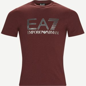 Print T-shirt Regular | Print T-shirt | Bordeaux
