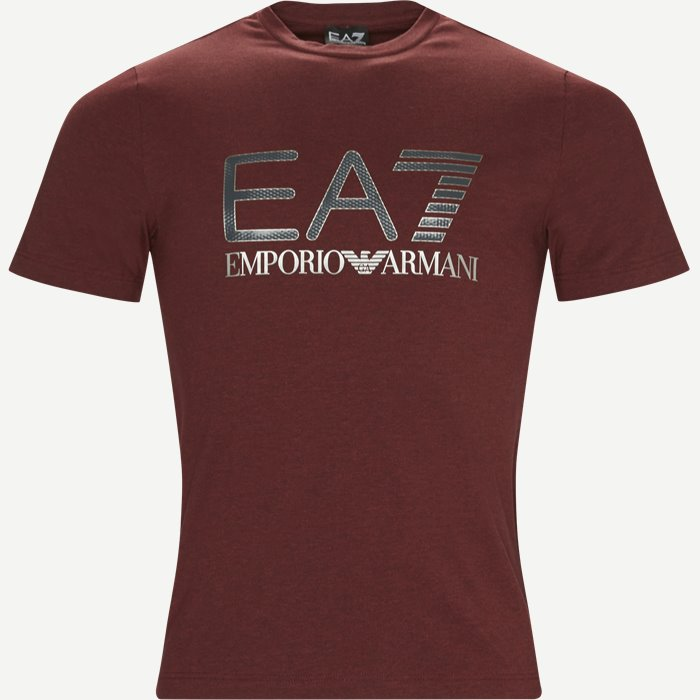 Print T-shirt - T-shirts - Regular - Bordeaux