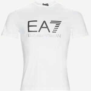 Print T-shirt Regular | Print T-shirt | Hvid