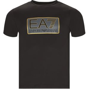 Crew Neck T-shirt Regular | Crew Neck T-shirt | Sort