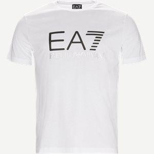 Crew Neck T-shirt Regular | Crew Neck T-shirt | Hvid
