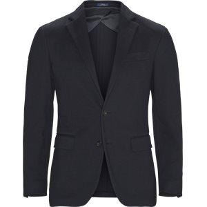 Woven Pique Sports Coat Regular | Woven Pique Sports Coat | Blå