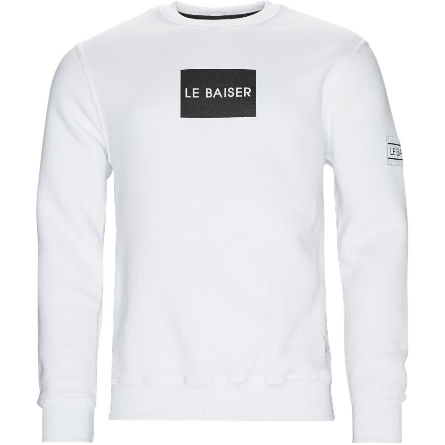 ANTIBES - Antibes Sweatshirt - Sweatshirts - Regular - WHITE - 1