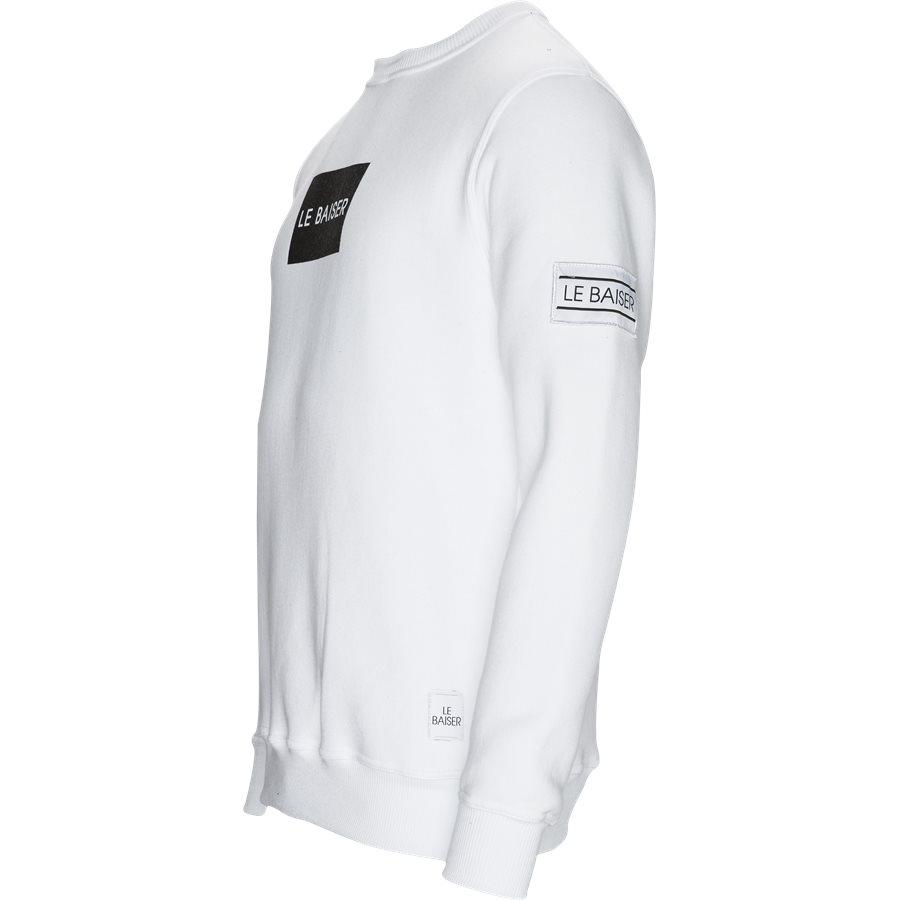 ANTIBES - Antibes Sweatshirt - Sweatshirts - Regular - WHITE - 3