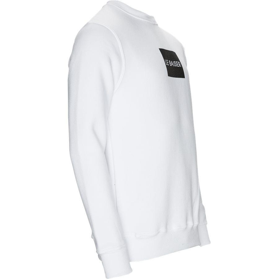 ANTIBES - Antibes Sweatshirt - Sweatshirts - Regular - WHITE - 4