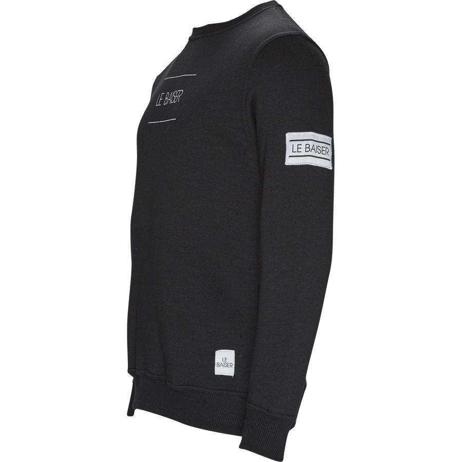 PROVENCE - Provence Sweatshirt - Sweatshirts - Regular - BLACK - 3