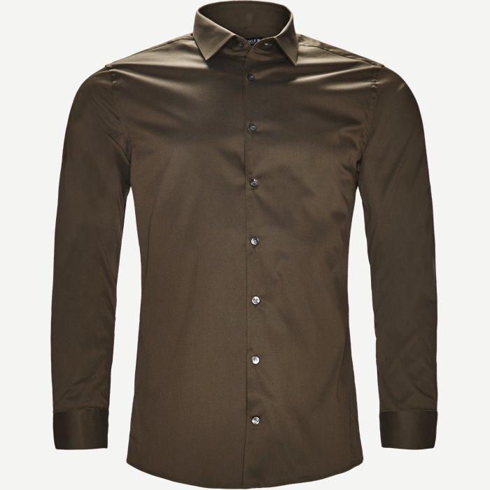 Filbrodie Skjorte - Skjorter - Ekstra slim fit - Grøn
