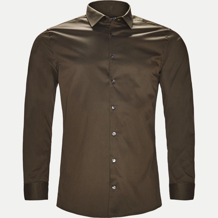 39243 FILBRODIE - Filbrodie Skjorte - Skjorter - Ekstra slim fit - GRØN - 1
