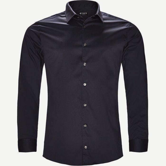 Filbrodie Skjorte - Skjorter - Ekstra slim fit - Blå