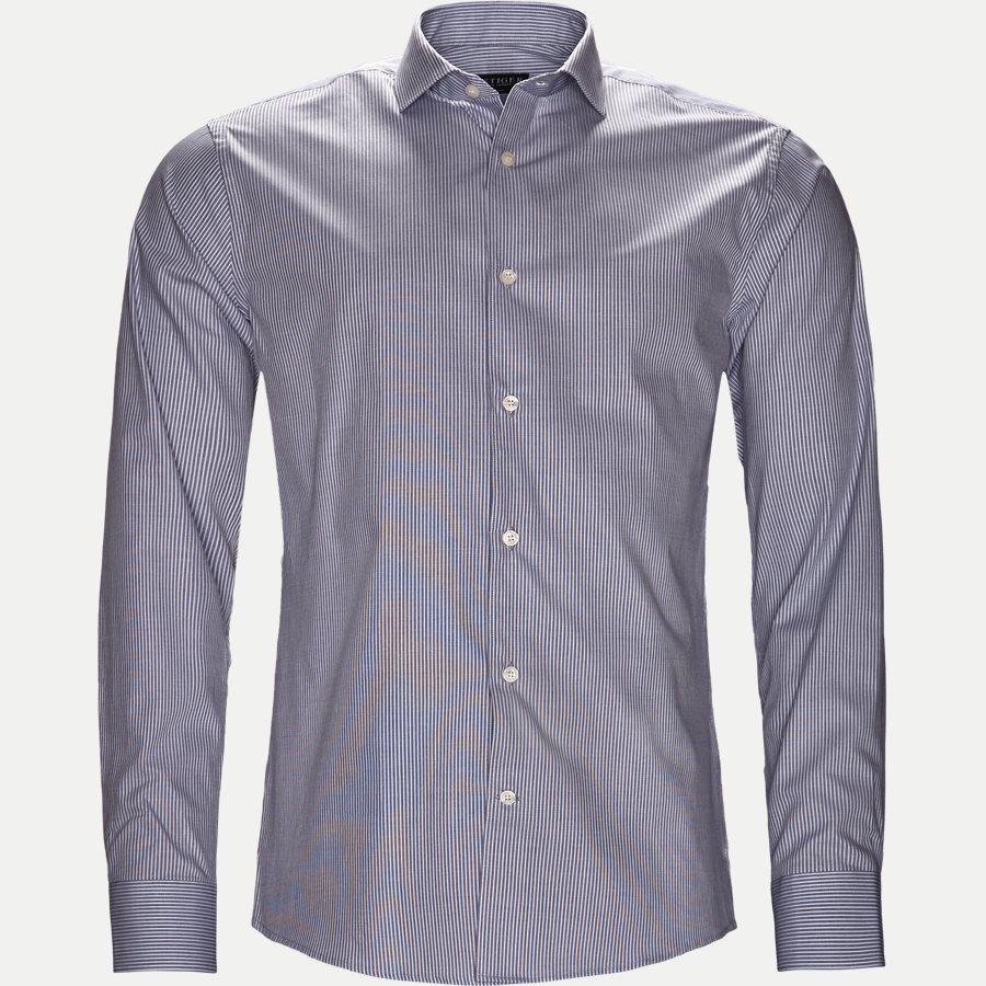 65670 FARRELL5 - Farrell5 Skjorte - Skjorter - Slim - GRÅ - 1