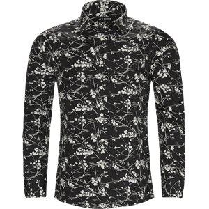 Farrell Skjorte Slim | Farrell Skjorte | Sort