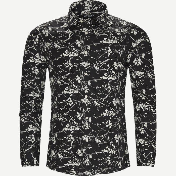 Farrell Skjorte - Skjorter - Slim - Sort