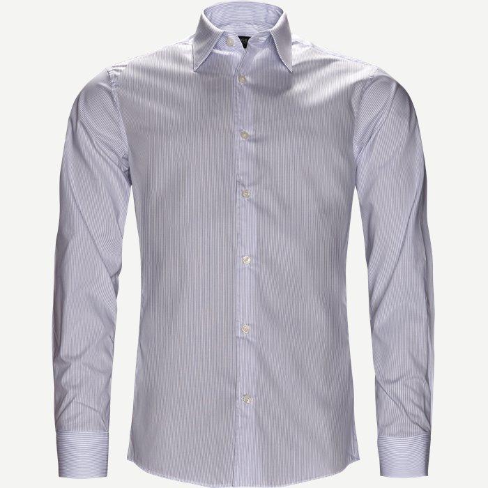Farrell Skjorte - Skjorter - Slim - Blå