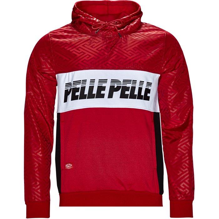 Sweatshirts - Regular - Röd