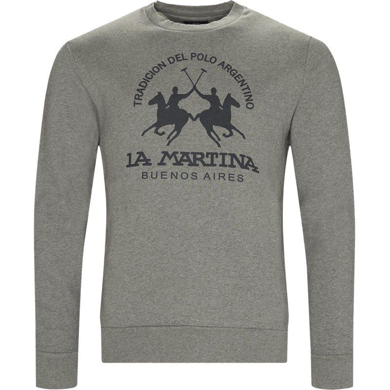 La Martina - Fleece Crew Neck Sweatshirt