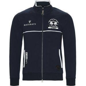 Maserati Zip Sweatshirt Regular | Maserati Zip Sweatshirt | Blå