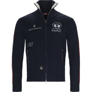 Full Zip Sweater Regular | Full Zip Sweater | Blå