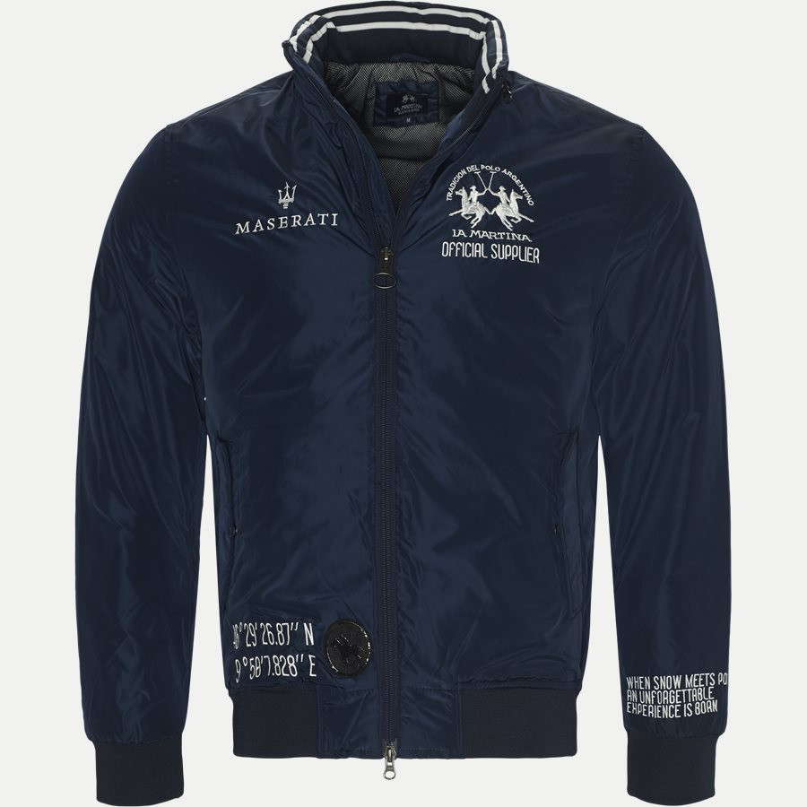 MMO31 PA004 - Maserati Jacket - Jakker - Regular - NAVY - 1