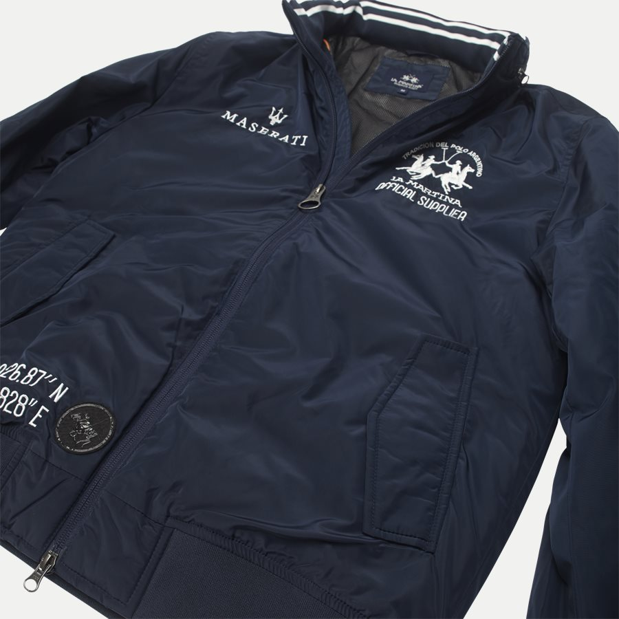MMO31 PA004 - Maserati Jacket - Jakker - Regular - NAVY - 5