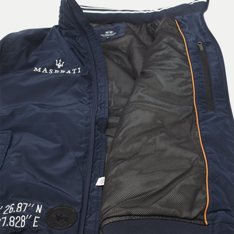 MMO31 PA004 - Maserati Jacket - Jakker - Regular - NAVY - 9