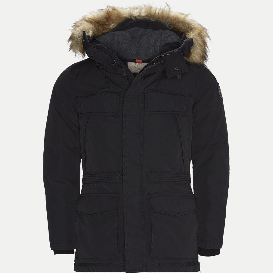 SKIDOO OPEN LONG - Skidoo Open Jacket - Jakker - Regular - SORT - 1
