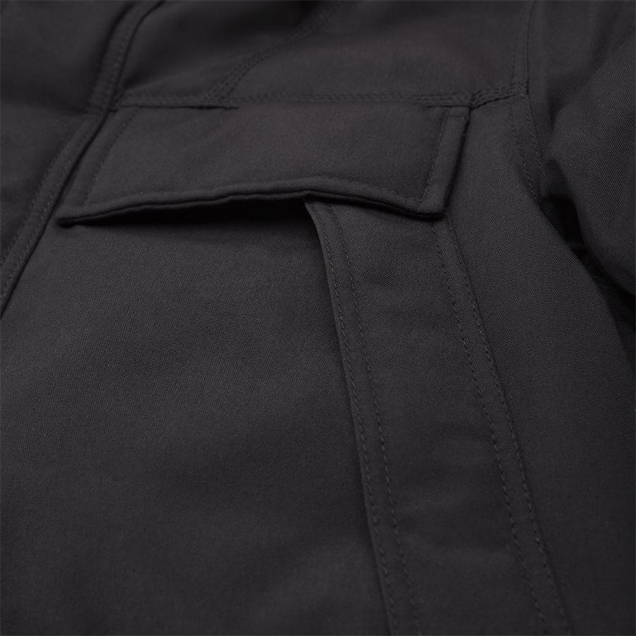 SKIDOO OPEN LONG - Skidoo Open Jacket - Jakker - Regular - SORT - 5