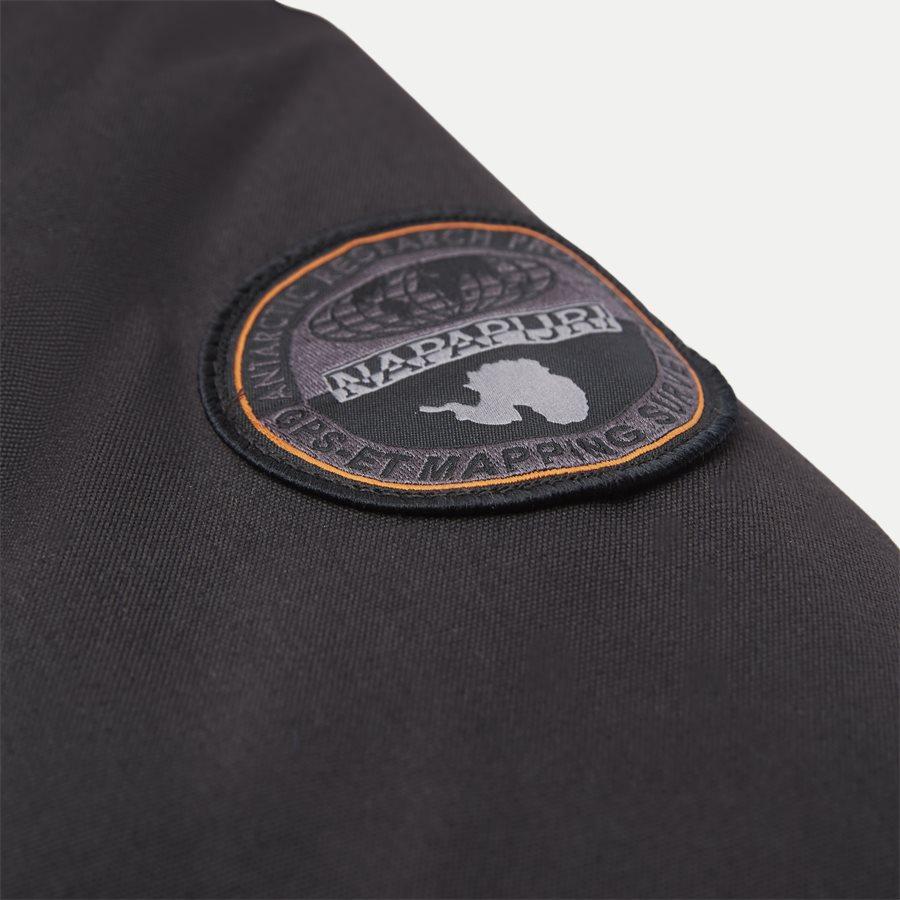 SKIDOO OPEN LONG - Skidoo Open Jacket - Jakker - Regular - SORT - 6
