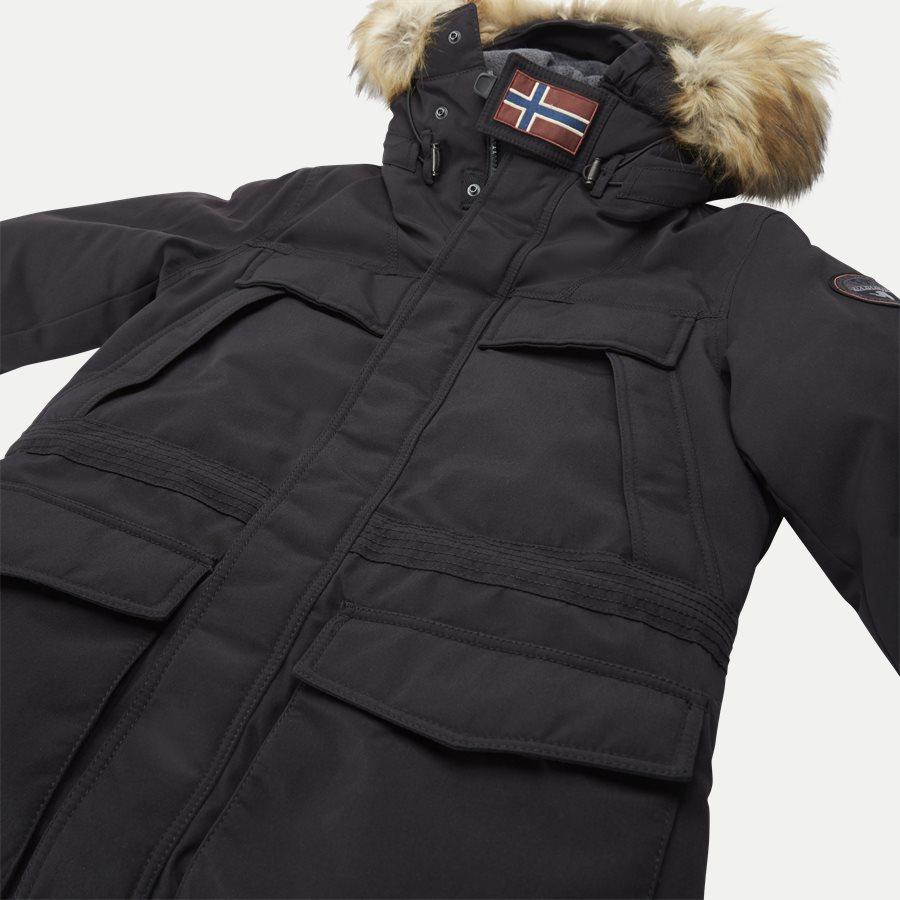 SKIDOO OPEN LONG - Skidoo Open Jacket - Jakker - Regular - SORT - 7