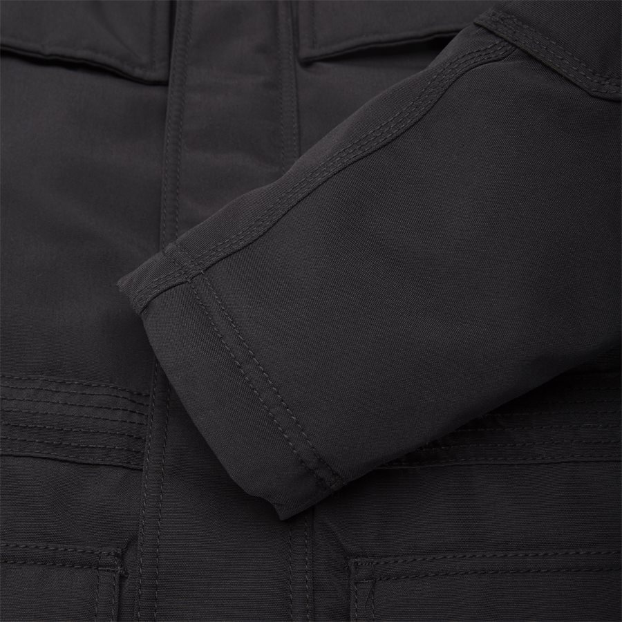 SKIDOO OPEN LONG - Skidoo Open Jacket - Jakker - Regular - SORT - 8