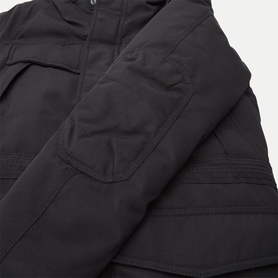SKIDOO OPEN LONG - Skidoo Open Jacket - Jakker - Regular - SORT - 9