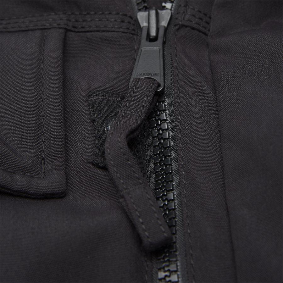 SKIDOO OPEN LONG - Skidoo Open Jacket - Jakker - Regular - SORT - 10